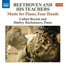 Front cover - Beethoven recording  by Cullan Bryant and Dmitry Rachmanov
